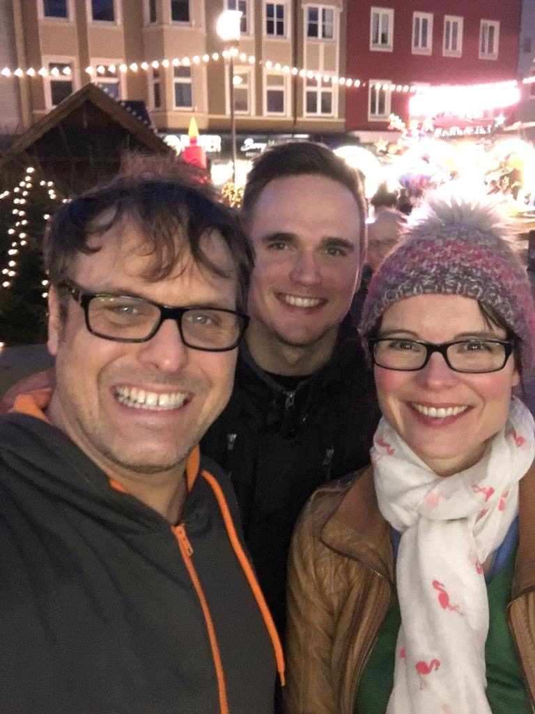 Chris, Flo, Jessi - Weihnachtsmarkt 2109