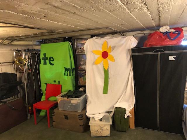 Lager eingeräumt